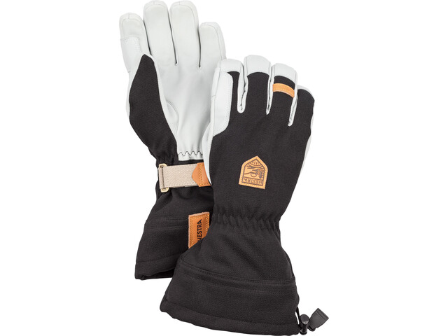 Hestra M's Army Leather Patrol Gauntlet Rękawiczki 5-palcowe, black